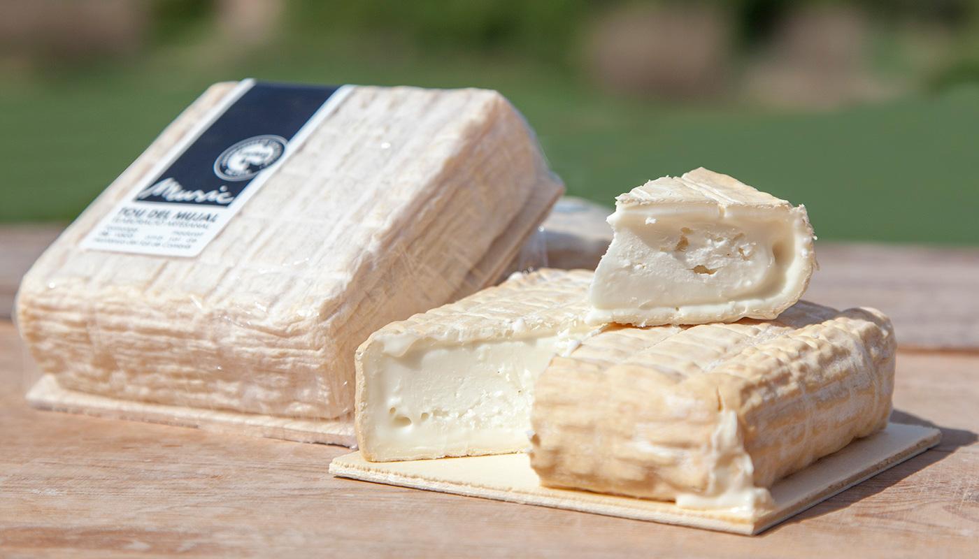 Fotografia gastronomica formatge tou del mujal