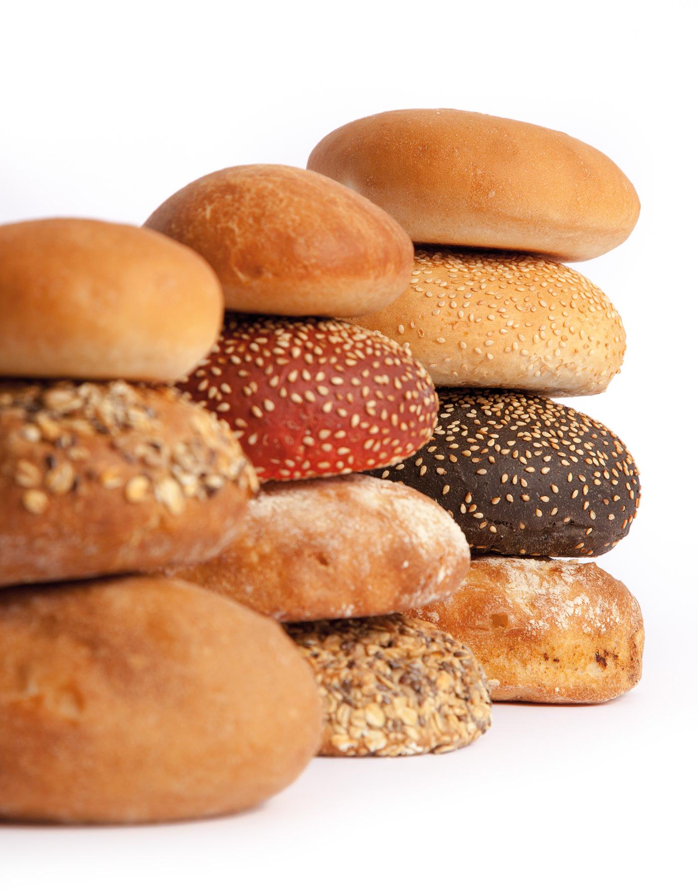 Fotografies de pans hamburguer de Bonblat Osona