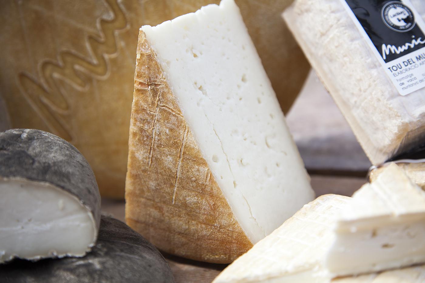 Fotografia formatge de llet de vaca