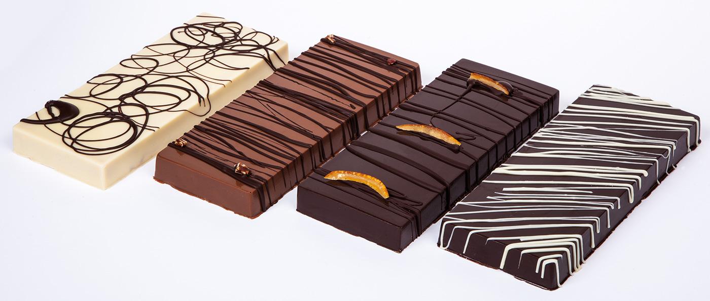 Fotografies de rajoles de xocolata